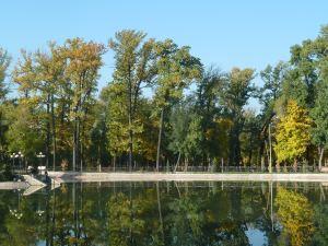 Early autumn at Gogol Park, Almaty