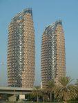 Buildings in Abu Dhabi UAE
