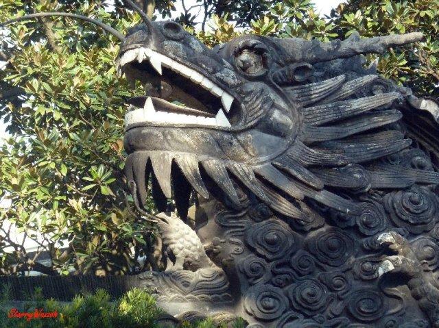 Dragon Sculpture, Shanghai