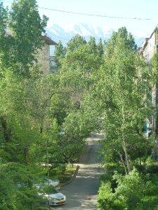 Almaty inner city scene