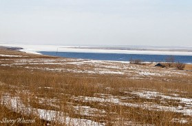 Lake Sorbulak in Early February